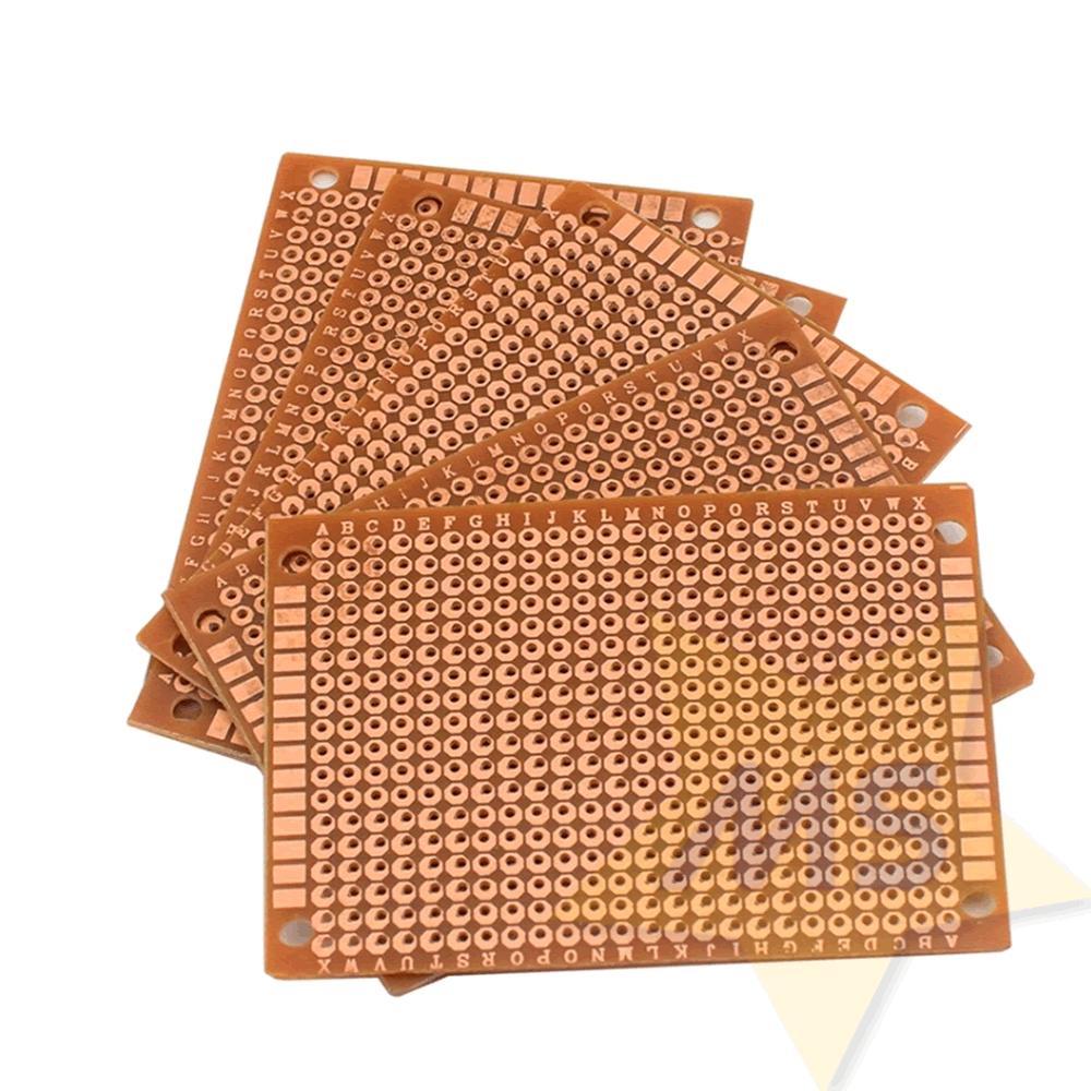Placa universal Fenolite  face simples 5 x 7 cm