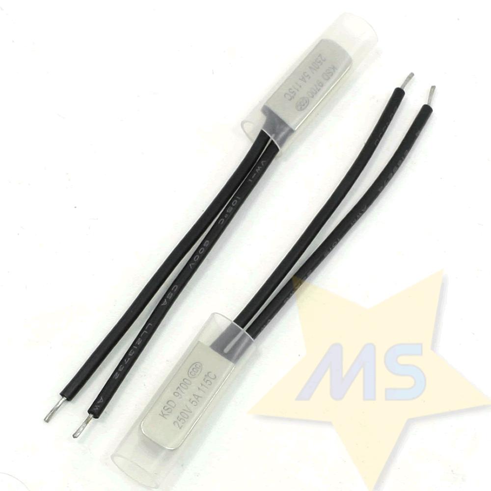 Protetor Térmico Bimetálico 115℃  5A NF