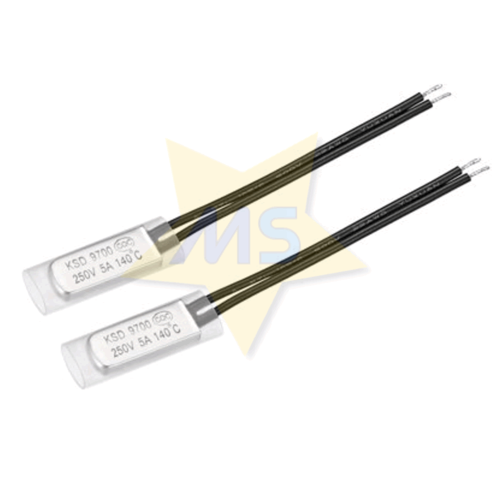 Protetor Térmico Bimetálico 140℃ 5A NF