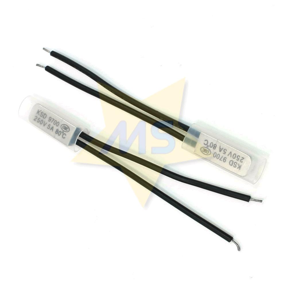 Protetor Térmico Bimetálico 80℃ 5A NF