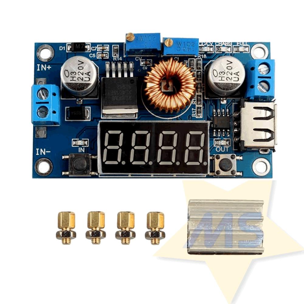 Regulador de tensão e corrente XL4015 Step Down 5A