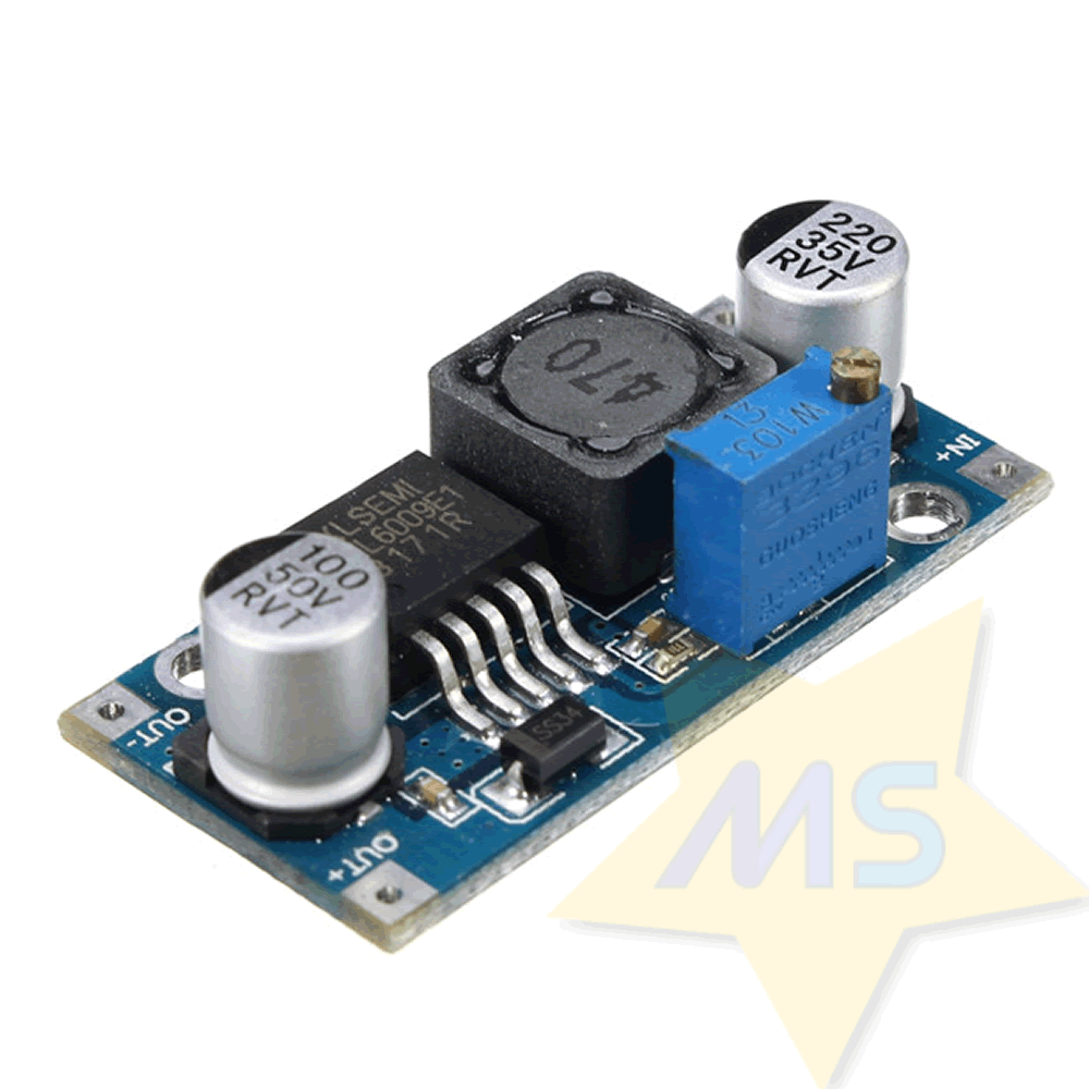 Regulador Tensão 4A Step Up  XL6009E1  Dc-Dc