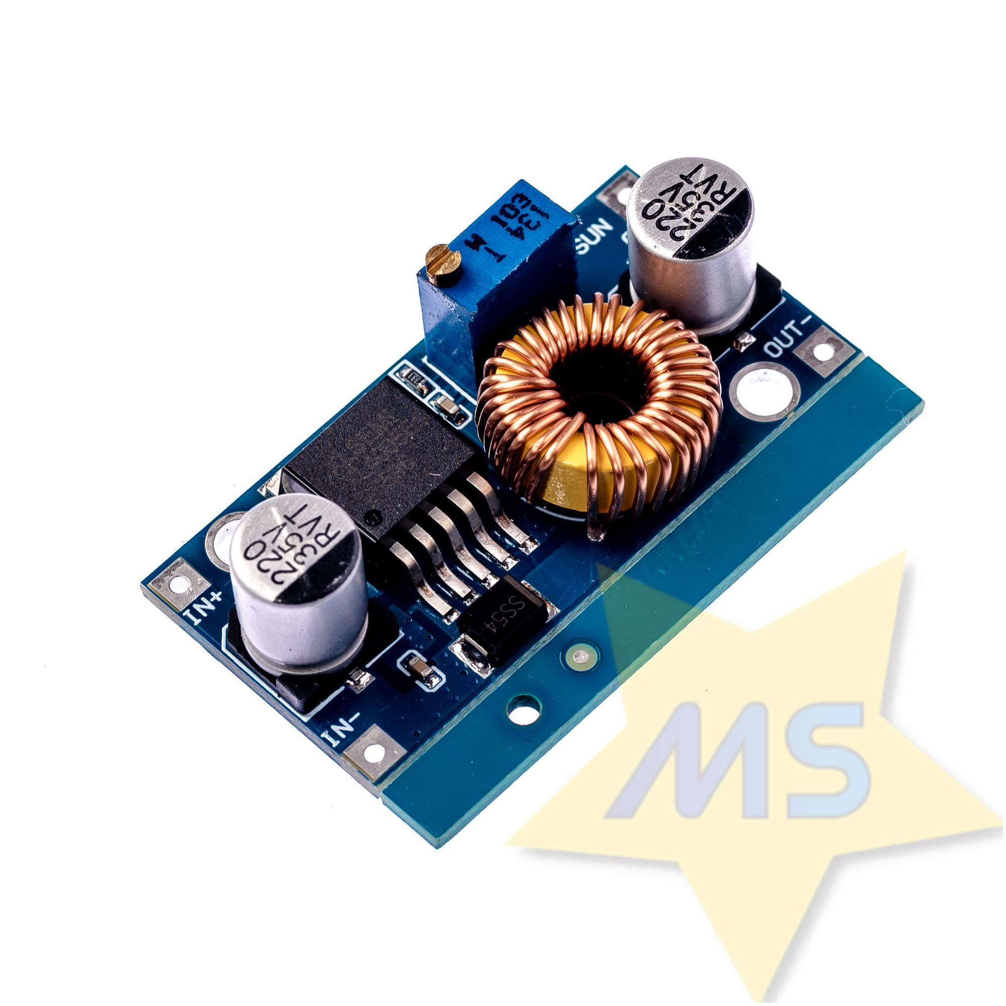 Regulador Tensão 5A 1,2v A 32V Step Down XL4005E  Buck Dc-dc
