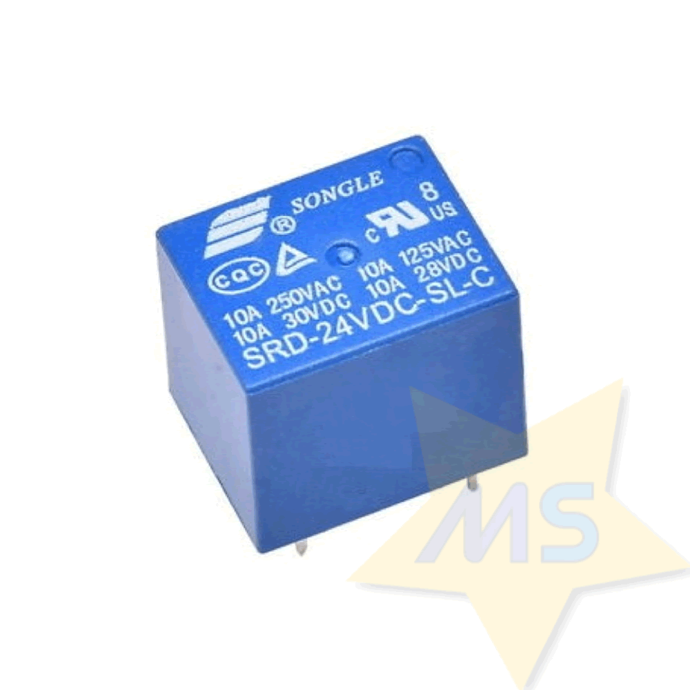 Rele 24V Songle SRD-24VDC-SL-C