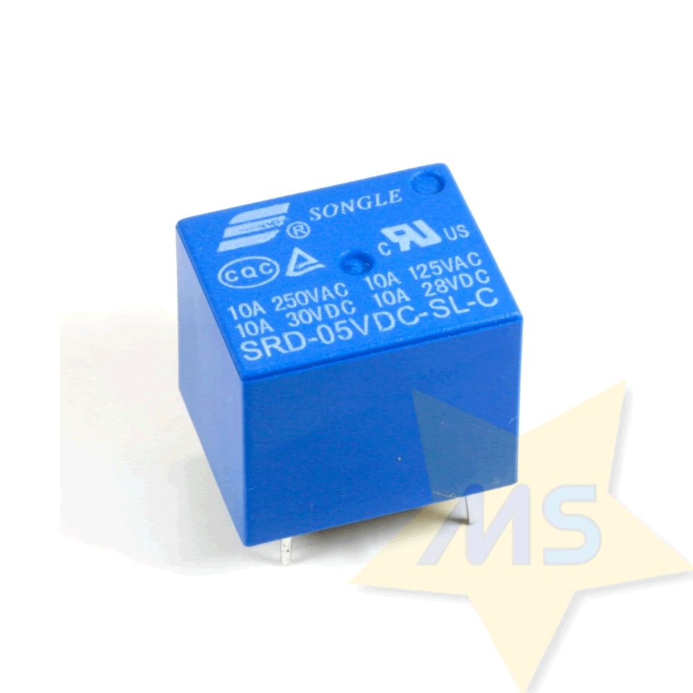 Rele 5V Songle SRD-05VDC-SL-C