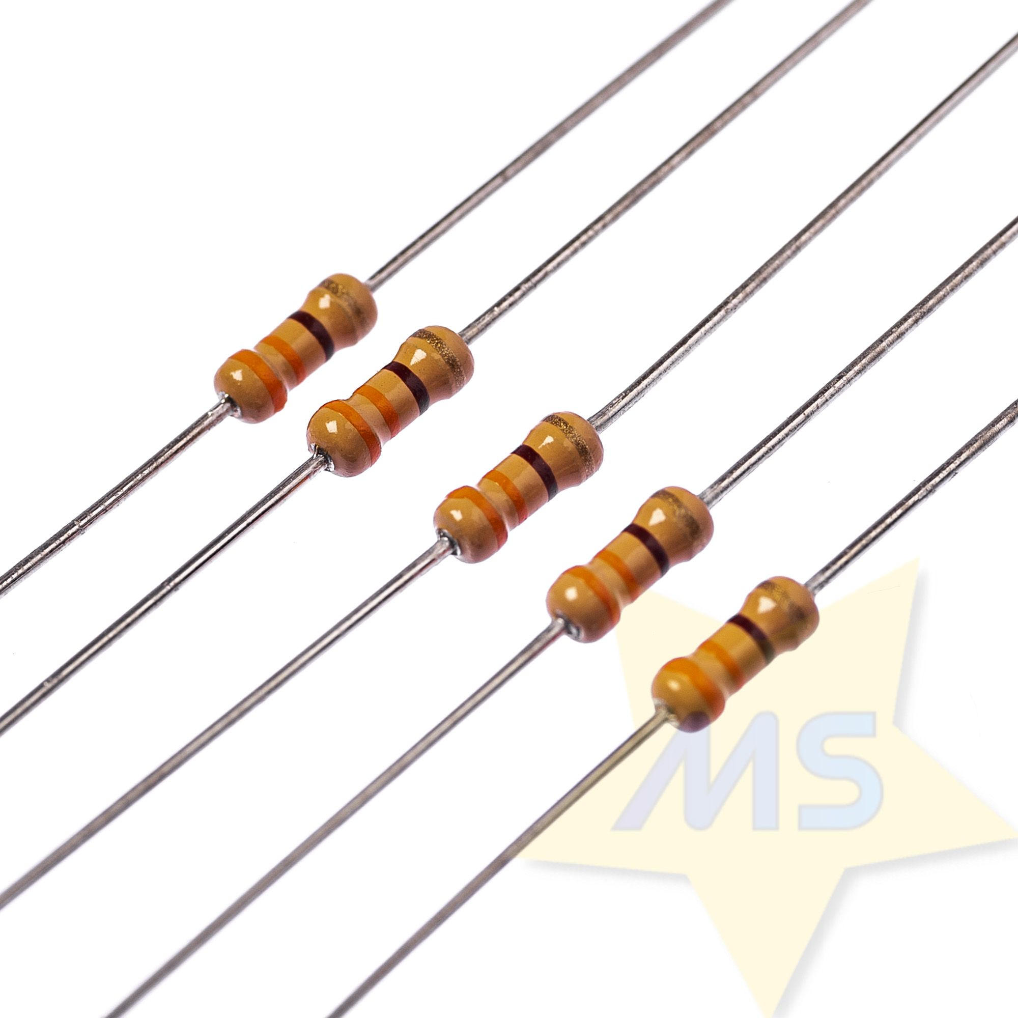 Resistor 330R 1/4W