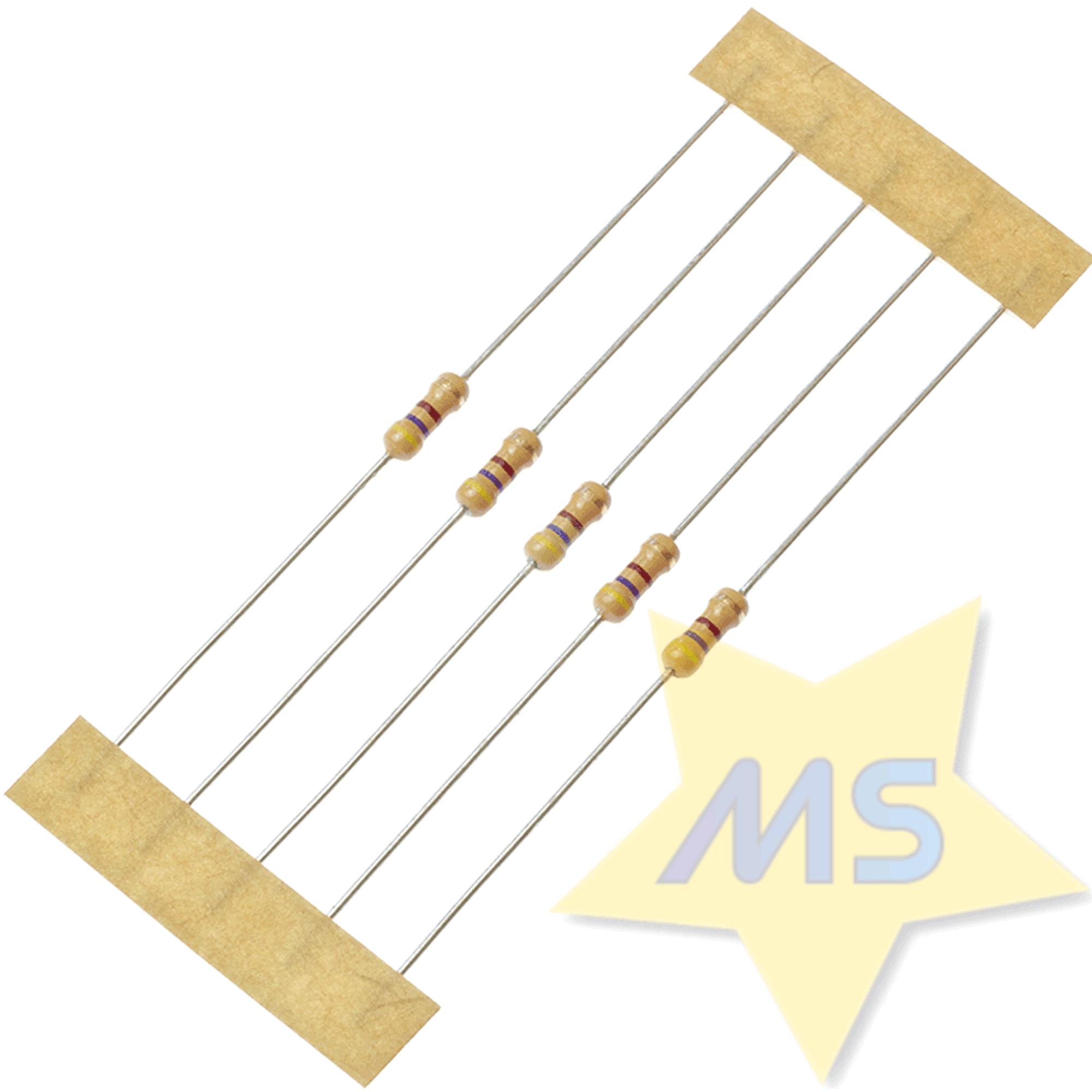 Resistor 470R 1/4W