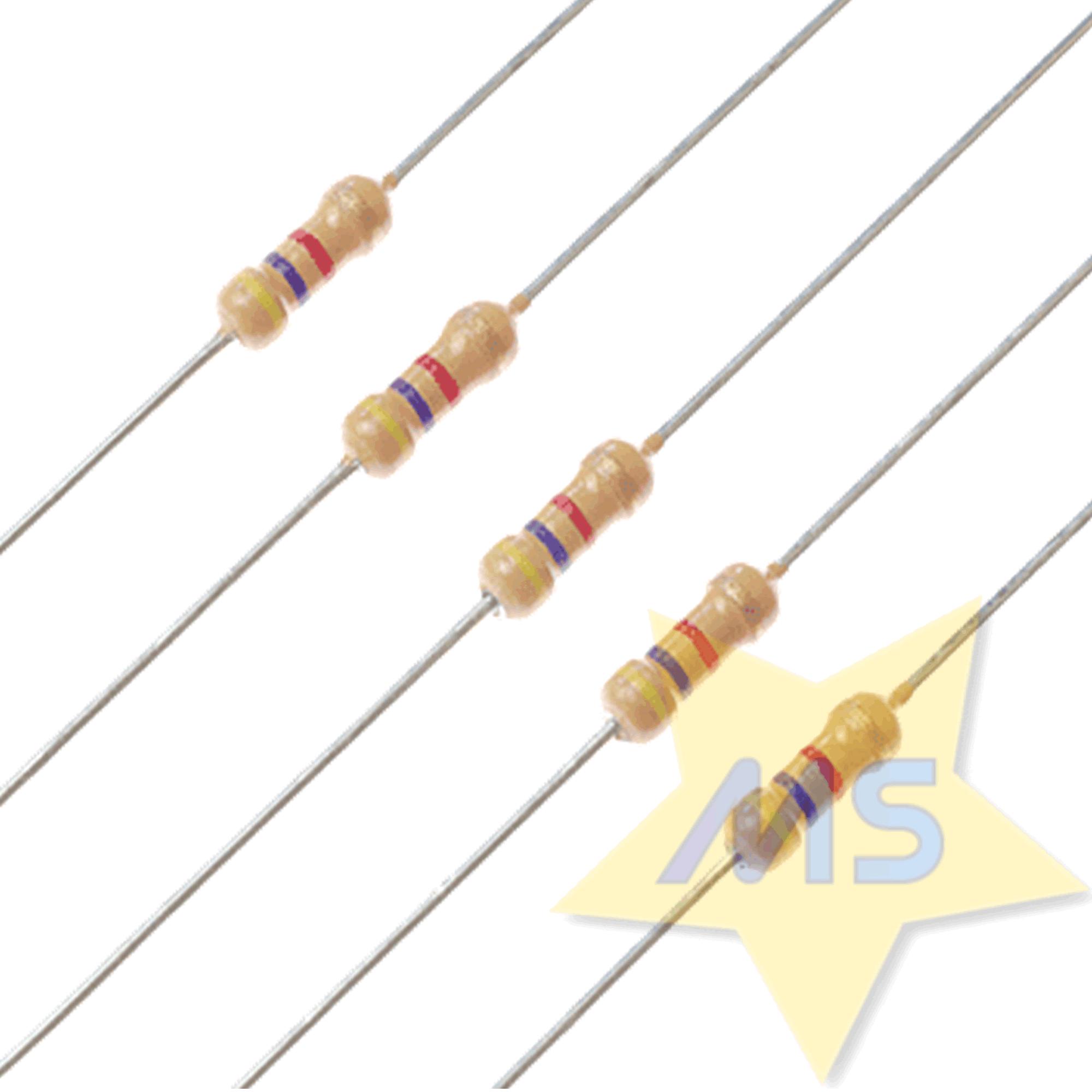 Resistor 4K7 1/4W