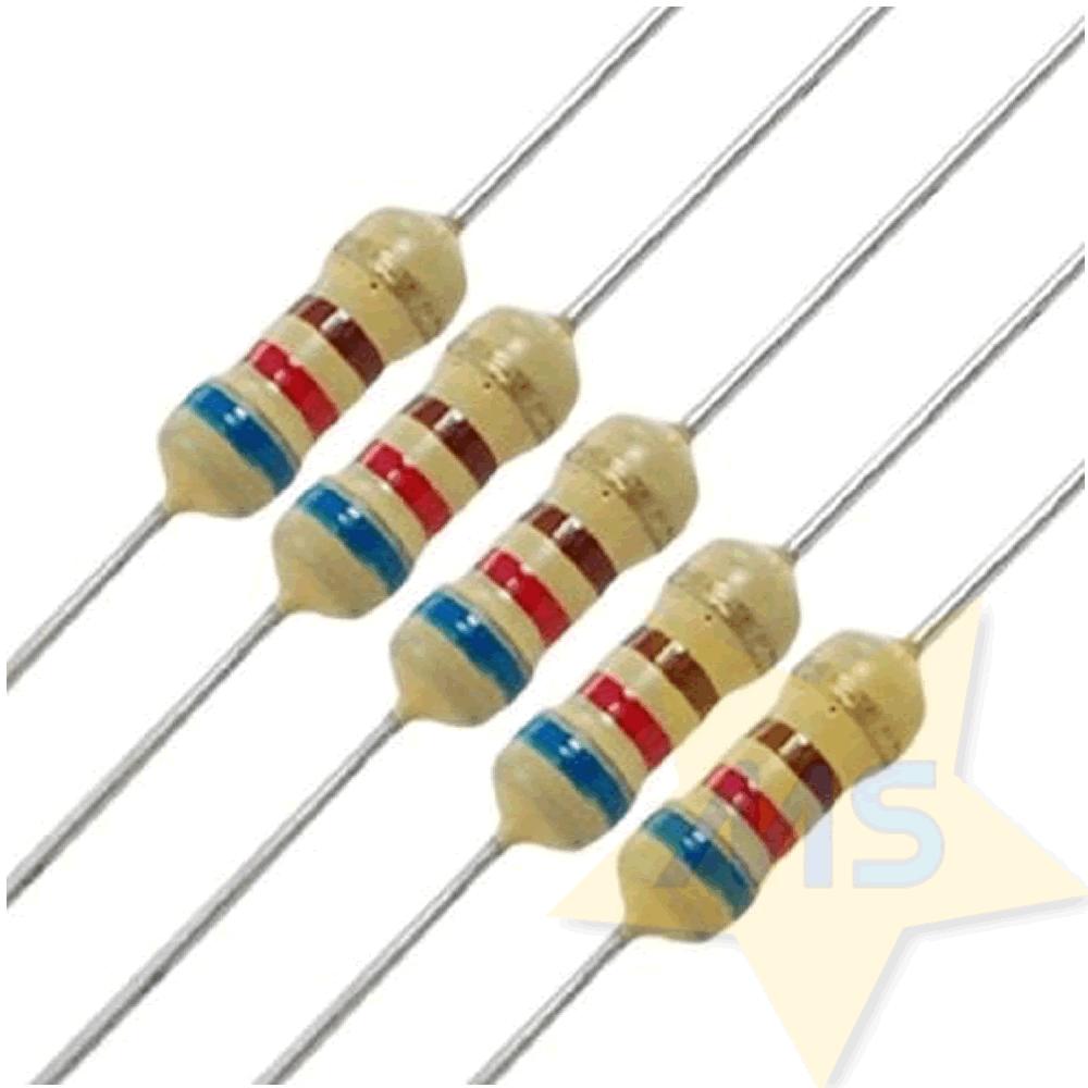Resistor 620R 1/4W