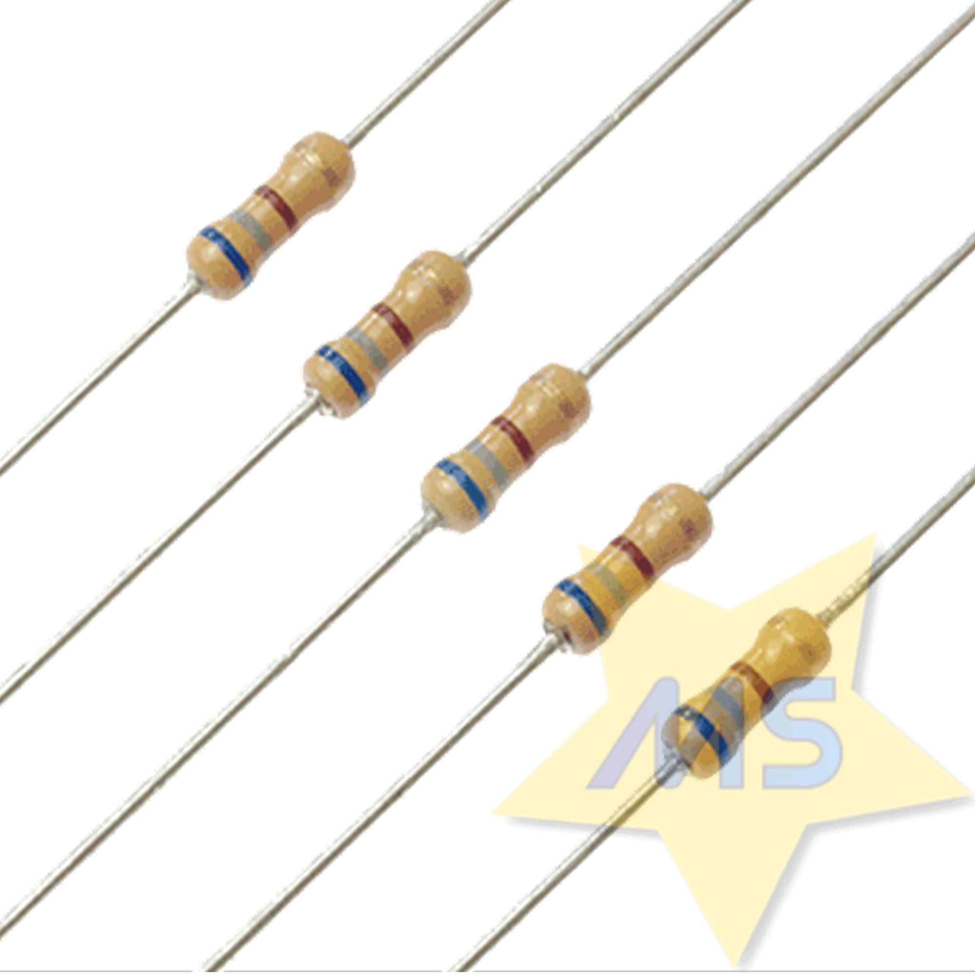 Resistor 680R 1/4W