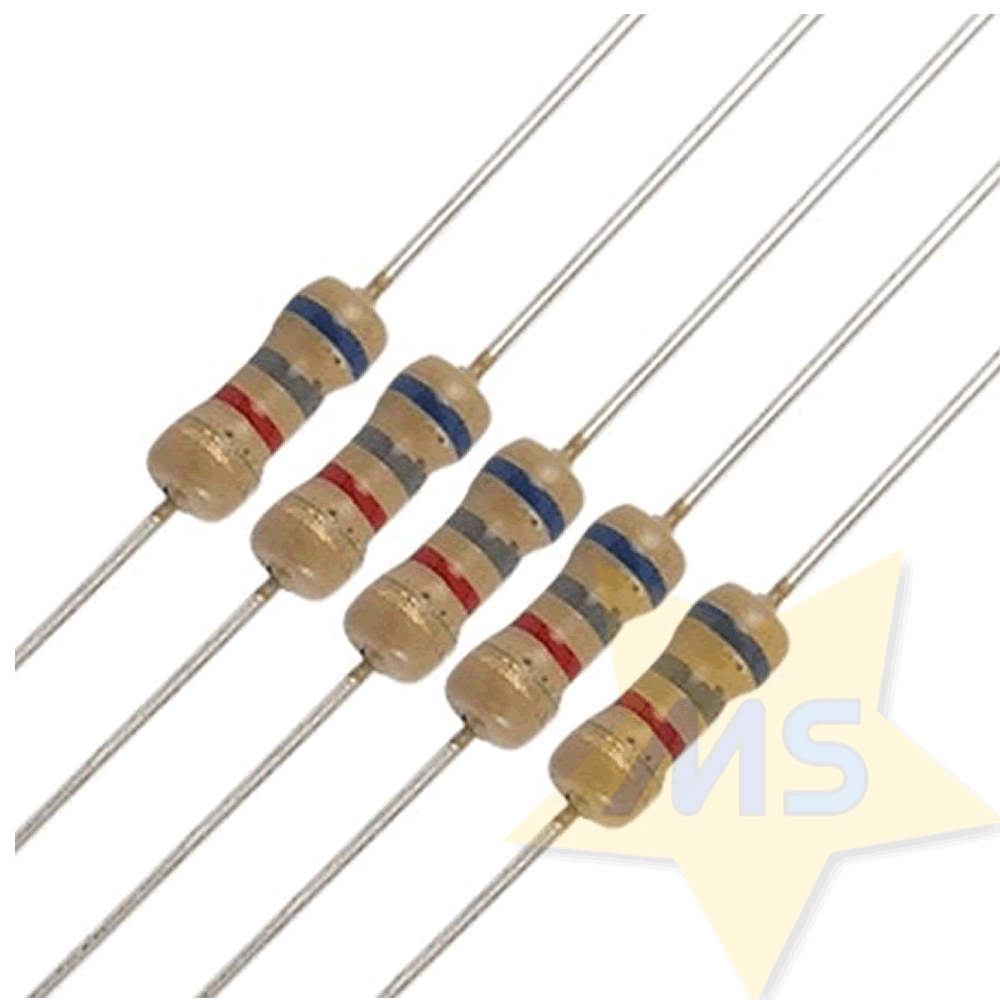 Resistor 6K8 1/4W