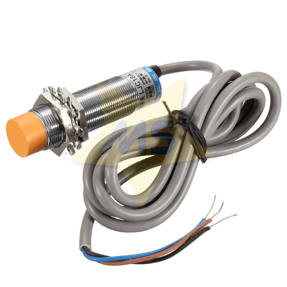 Sensor Capacitivo PNP NA 6-36V DC