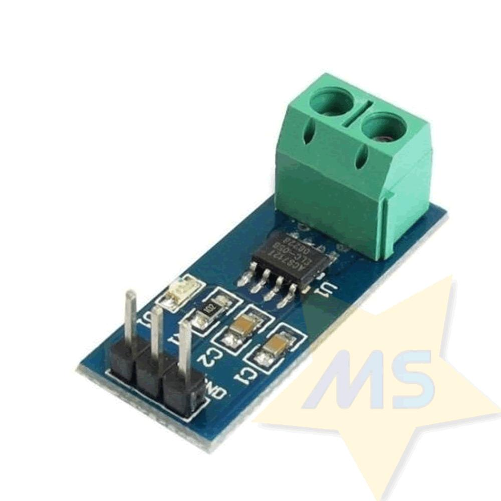 Sensor de Corrente ACS712 -5A a +5A
