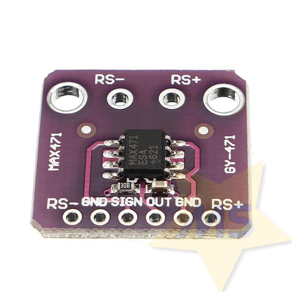 Sensor de Corrente e Tensão MAX471 - GY-471