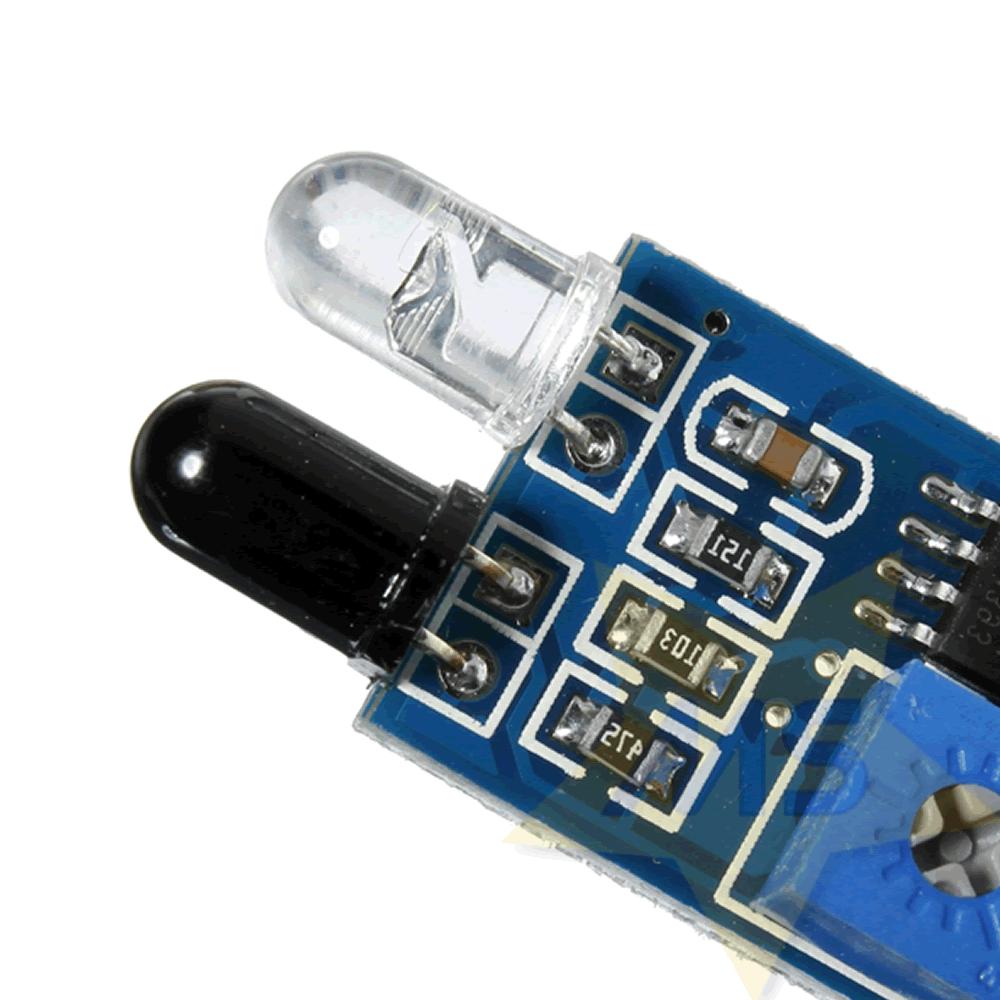 Sensor de obstáculo infravermelho