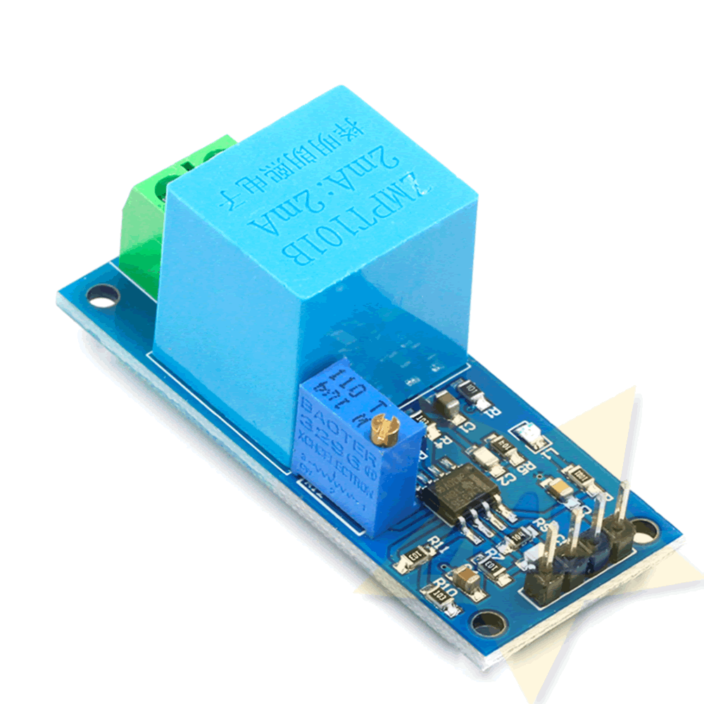 Sensor de Tensão AC 0 a 250V  ZMPT101B