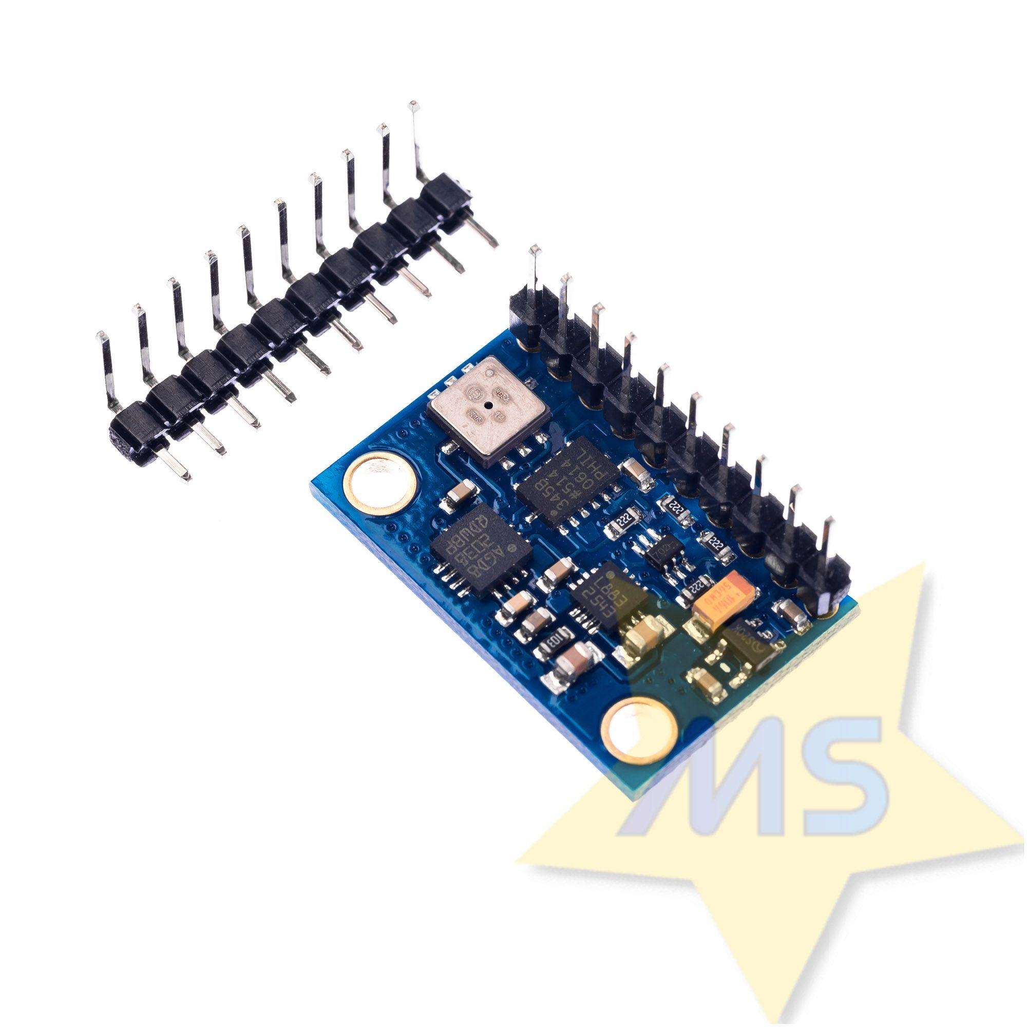 Sensor GY-80 Acelerômetro, Giroscópio, Magnetômetro, Barômetro