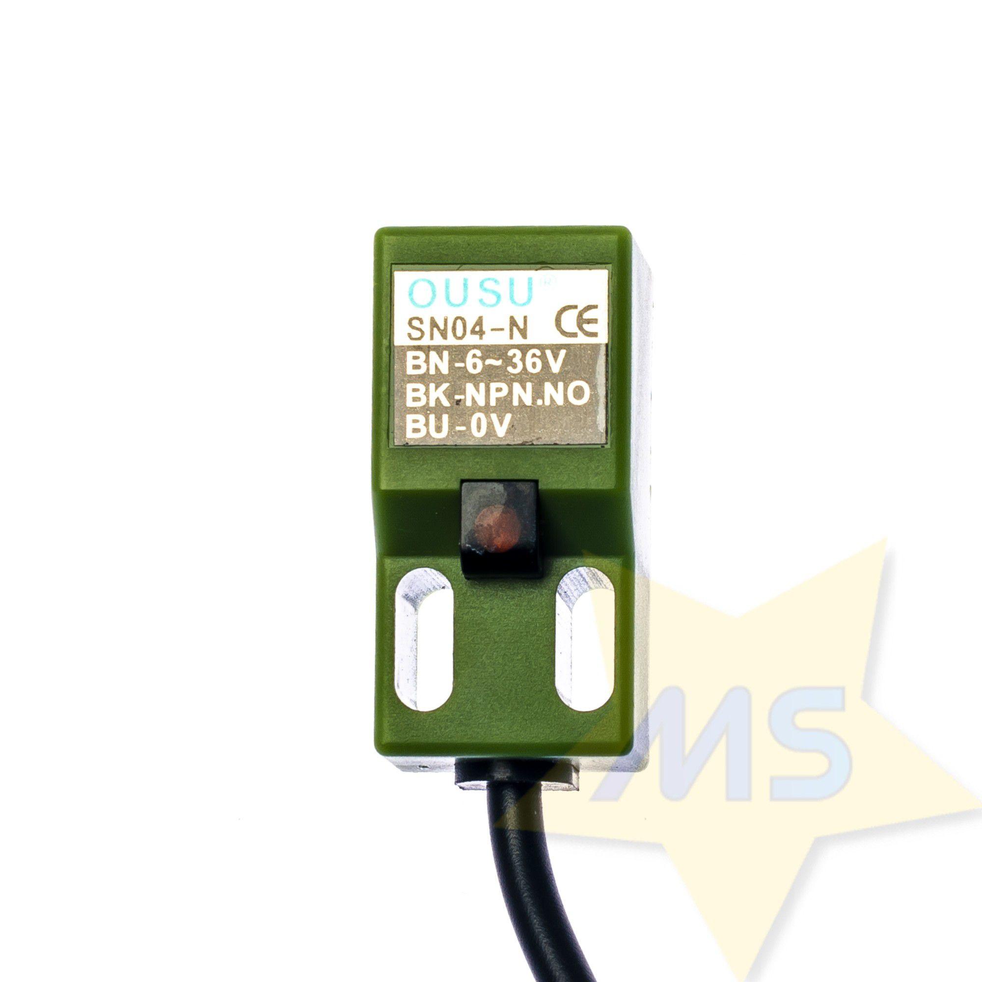 Sensor Indutivo SN04-N NPN NO