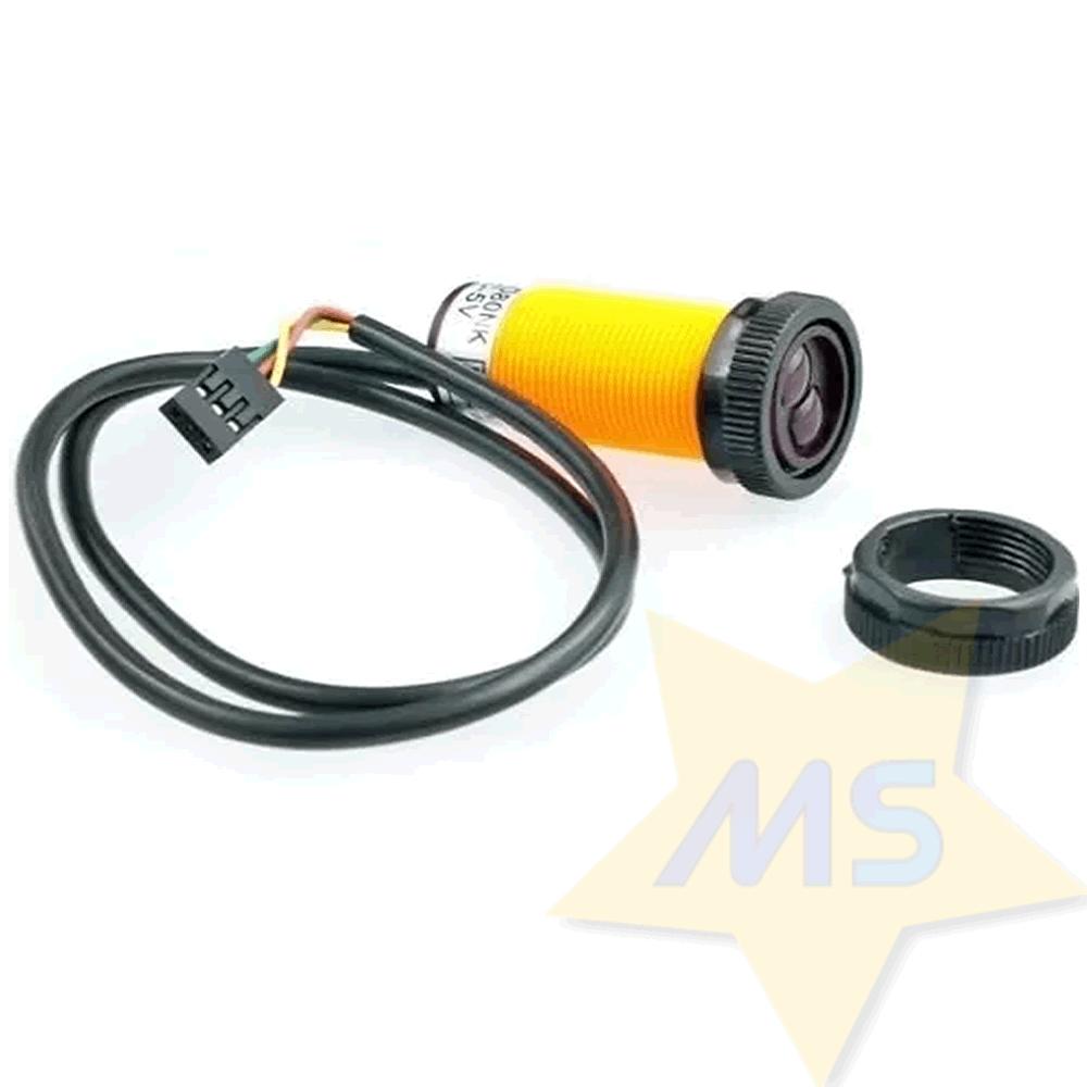 Sensor infravermelho de distância Ajustável