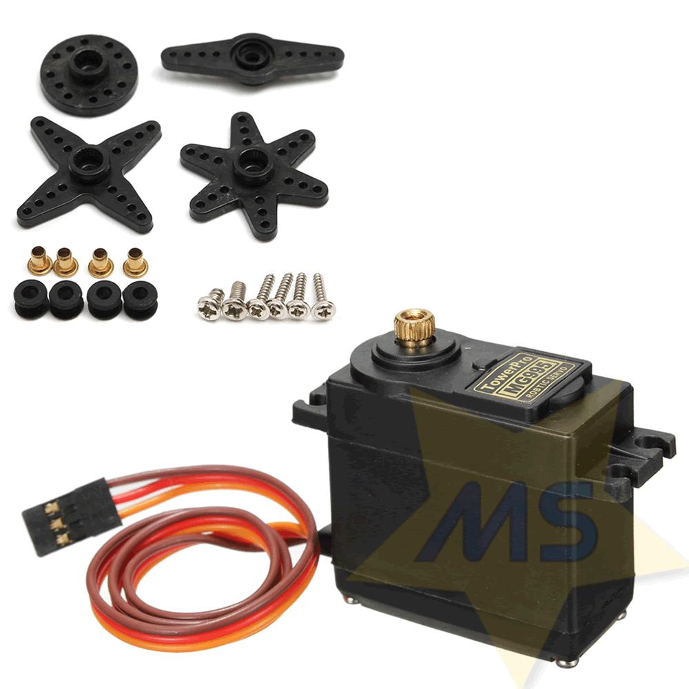 Servo MG995 Metálico 15 kg 360 Graus