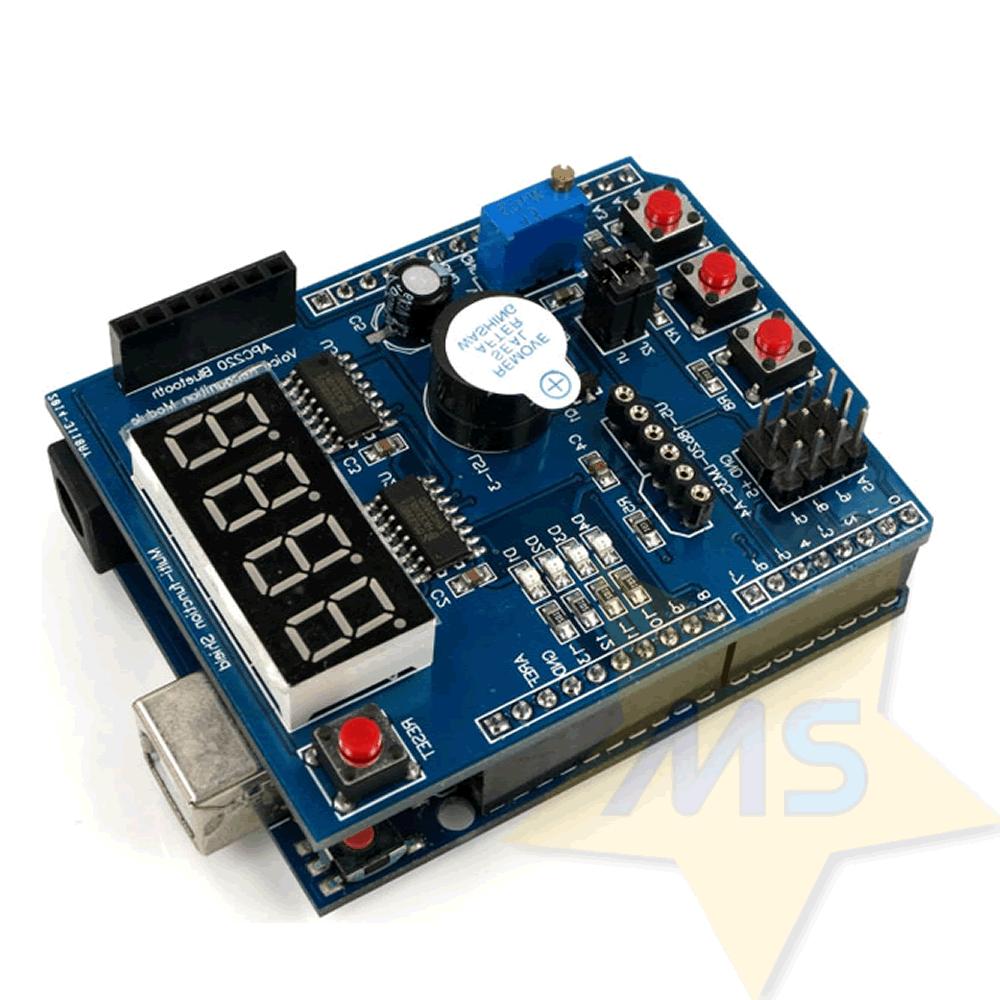 Shield Multifuncional para Arduino