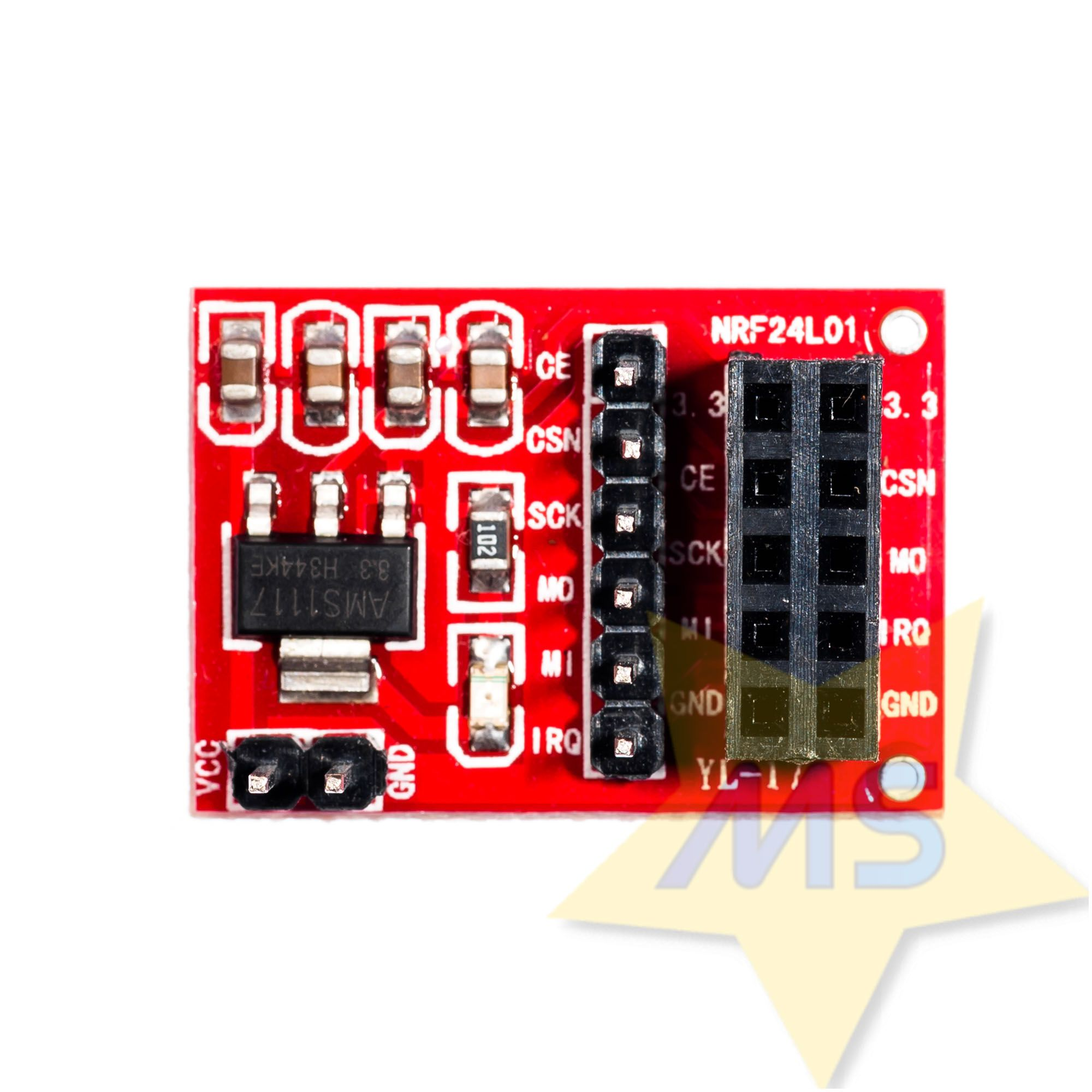 Soquete adaptador 10 pinos para módulo NRF24L01