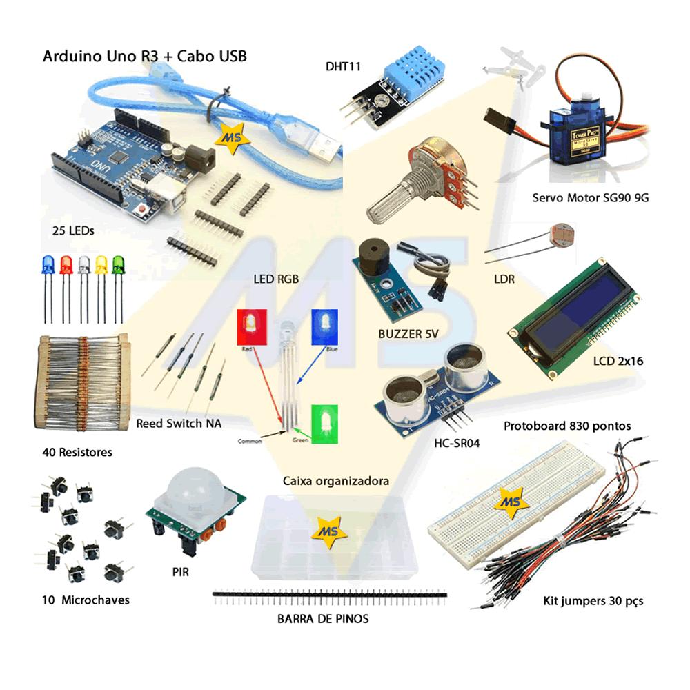 Start Kit Basico para Arduino