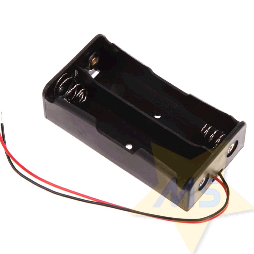 Suporte para 2 Baterias 18650