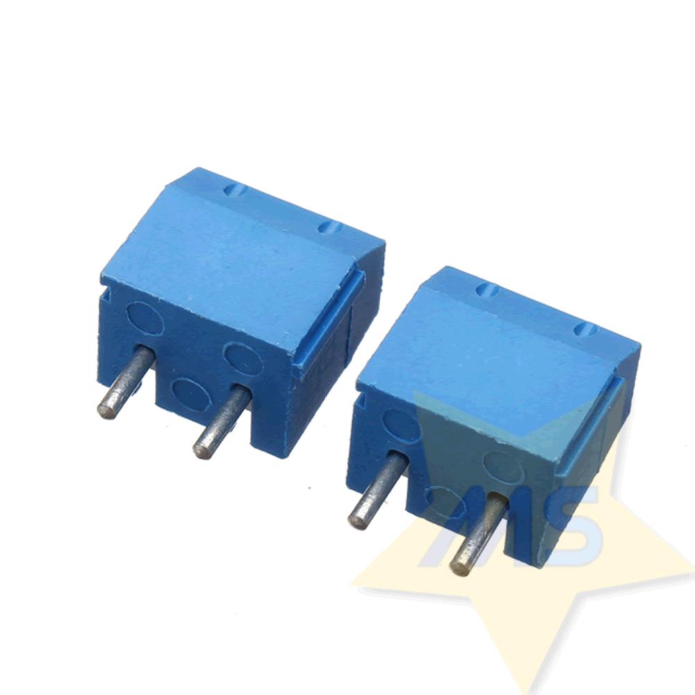 Conector Borne 2 Pinos 5.0 mm para PCB