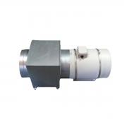Caixa de Filtragem Chapa Galvanizada 315mm G4/M5 + Exaustor Maxx 315mm
