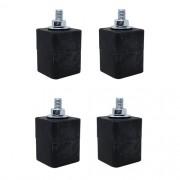 Calço de Borracha para Condensadora - Conjunto com 4 peças