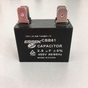 Capacitador 02,5MFD 450V Com Terminal