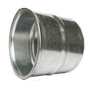 Colarinho para Duto Flexível Sem Registro 6 Pol. 150mm
