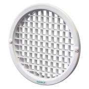 Grade Redonda de Ventilação Para Vidro com Tela 150mm Ventokit