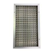 Grelha de Dupla Deflexão 450x250mm