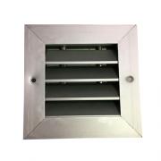Grelha de Retorno Horizontal em Alumínio 100x100mm