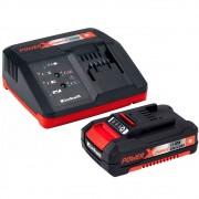Kit Bateria Power X-Change 18V 2.0Ah Íons de Lítio e Carregador 3.0Ah Bivolt Einhell
