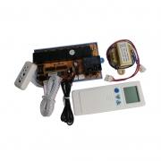 Kit Controle Remoto Placa Eletrônica Universal Split Cassete Quente e Frio QD-U30A
