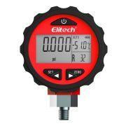 Manômetro Digital Medidor de Pressão Alta Elitech PG-30Pro Red