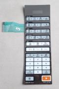 Membrana painel comando micro-ondas Midea 17170000A00124