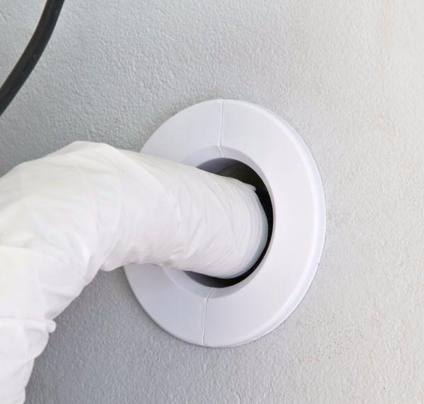 Acabamento Para Furo Da Serra Copo Ar Condicionado Split