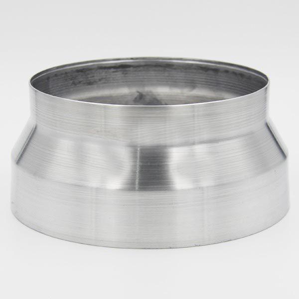 Adaptador Redutor de Dutos 150mm Para 100mm em Alumínio