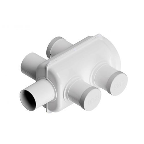 Adaptador Para Distribuição de Ar 150mm Para 5 Captações de 80mm