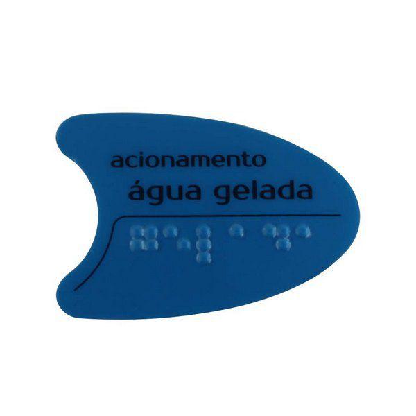 Adesivo Azul Tecla Lateral BDF PDF SMART H2O IBBL