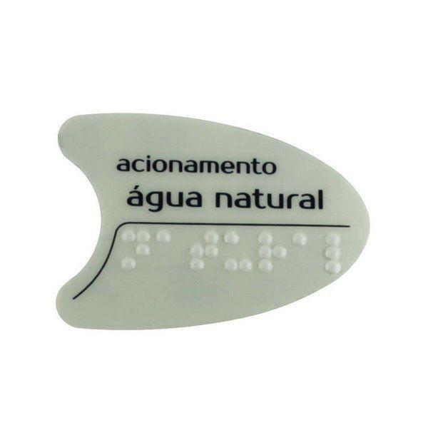 Adesivo Cinza Tecla Frontal BDF PDF SMART H2O IBBL