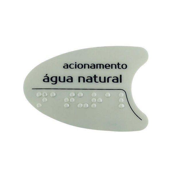 Adesivo Cinza Tecla Lateral BDF PDF SMART H2O IBBL