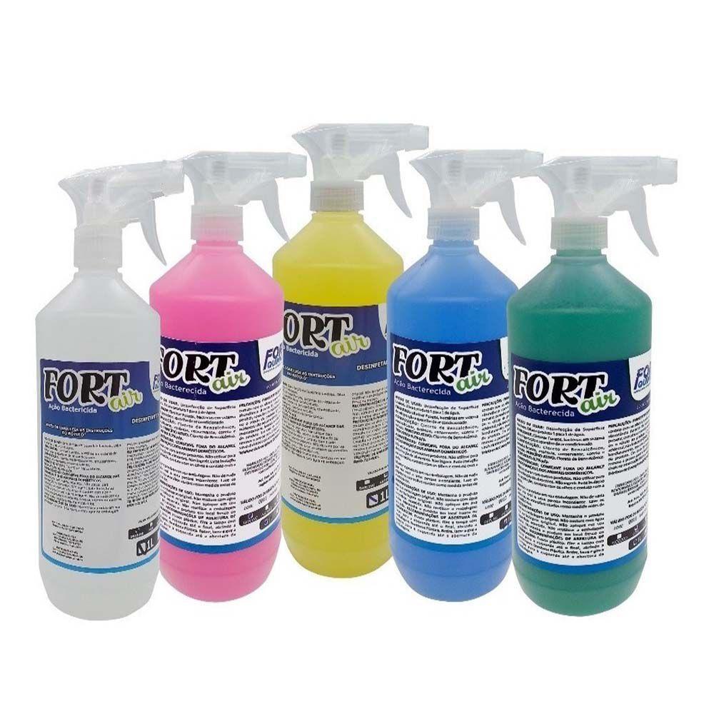 Bactericida Aromatizante Fort Air Limpeza Ar Condicionado 1 Litro