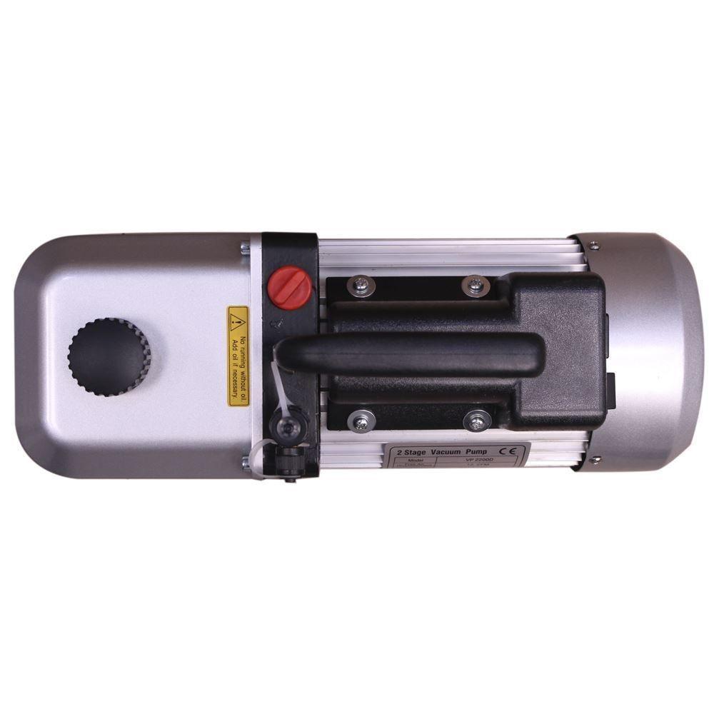 Bomba de Vácuo 12 CFM Duplo Estágio VP2200 110/220V Tipi
