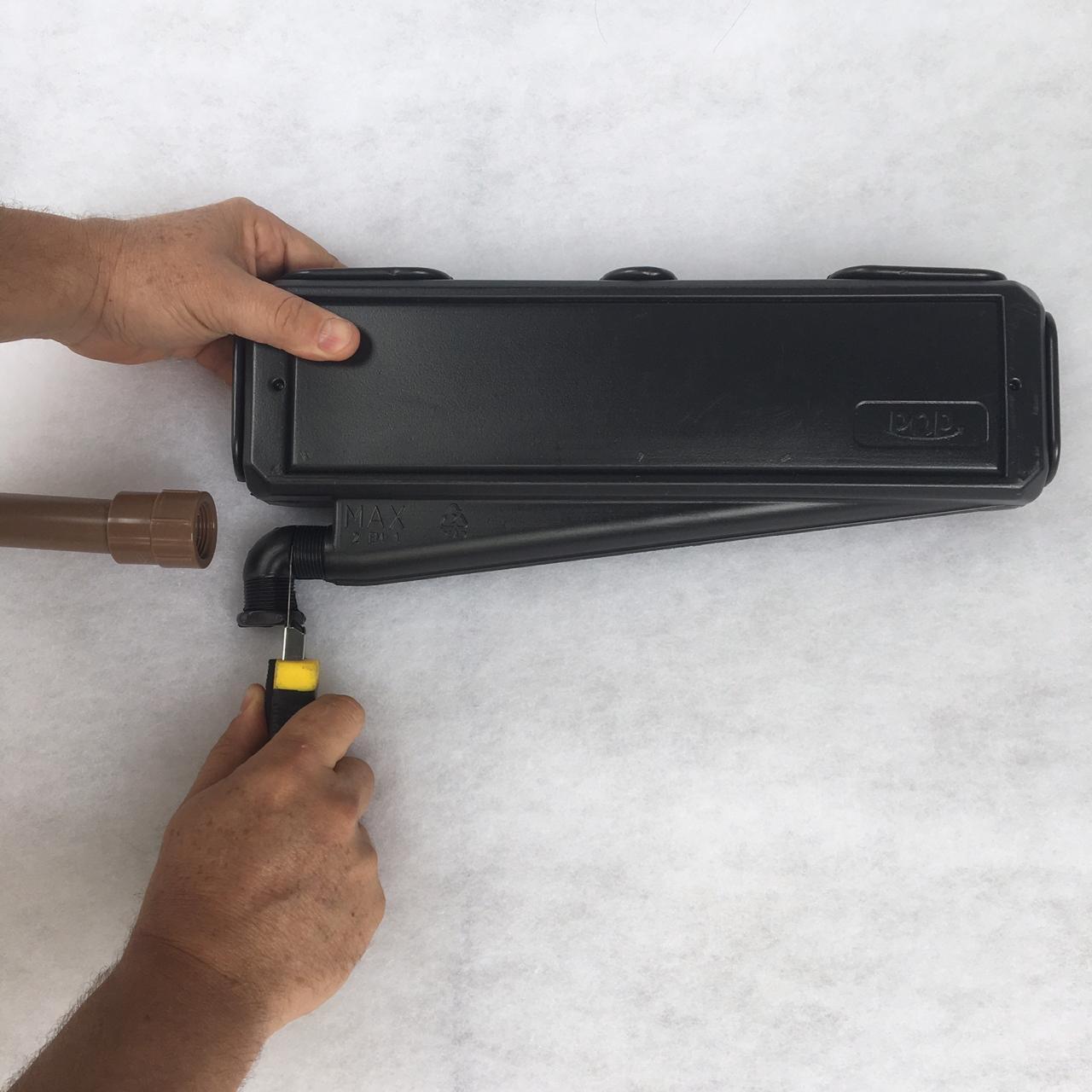 Caixa de Passagem Ar Condicionado Split POP MAX 2 em 1 Polar