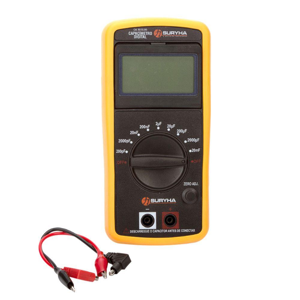 Capacímetro Digital Suryha 80150.090